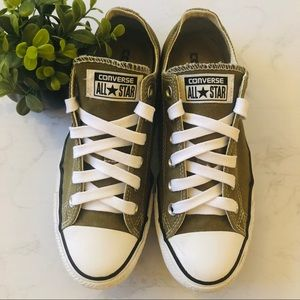 Converse Sneakers Olive Green